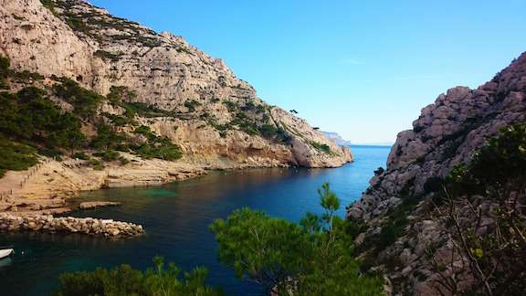 Les Calanques mellan Marseille och Cassis